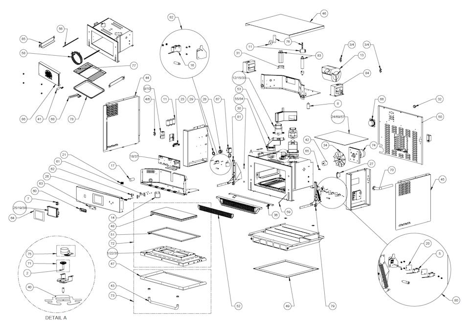E5 Parts Diagram