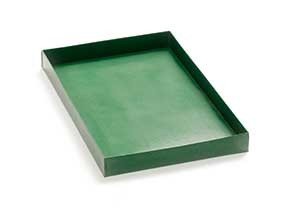 HALF SIZE DEEPER COOKING TRAY GREEN