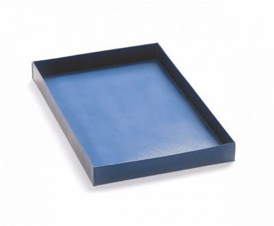 HALF SIZE DEEPER COOKING TRAY BLUE