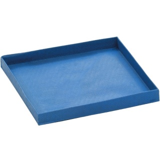 QUARTER SIZE COOKING TRAY BLUE